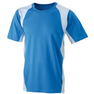 T-Shirt Men's Running-T colore royal/white taglia S