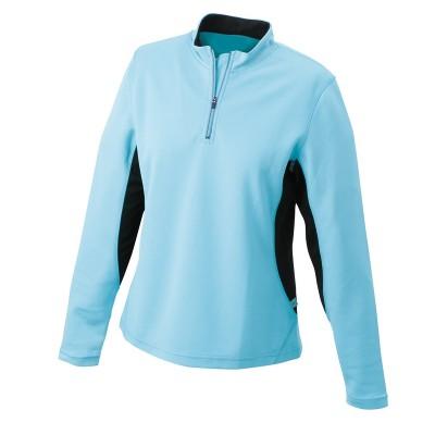 T-Shirt Ladies' Running Shirt colore ocean/black taglia S