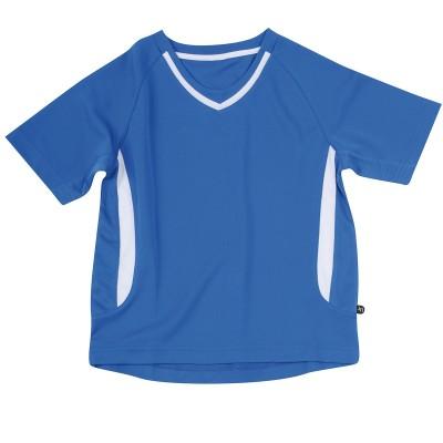 T-Shirt Team-T Junior colore royal/white taglia XS