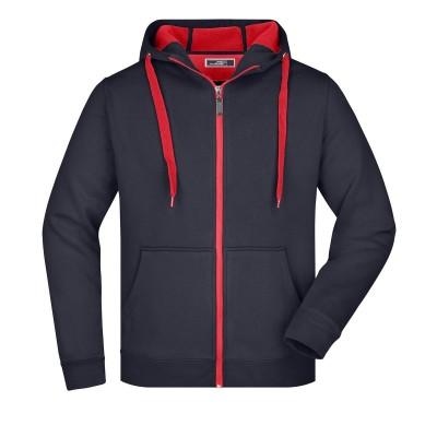 Felpe Men's Doubleface Jacket colore navy/red taglia S
