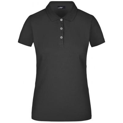 Polo Ladies' Elastic Piqué Polo colore black taglia S