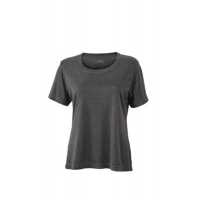 T-Shirt Ladies' Active-T colore dark-melange taglia XS