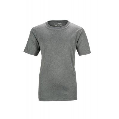 T-Shirt Active-T Junior colore dark-melange taglia M