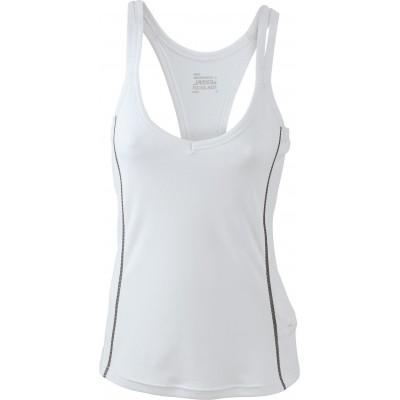 T-Shirt Ladies' Running Reflex Top colore white/black taglia S