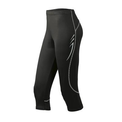 Pantaloni Men's Running 3/4 Tights colore black taglia S
