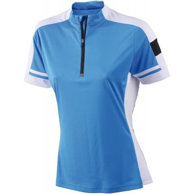 T-Shirt Ladies' Bike-T Half Zip colore cobalt taglia S
