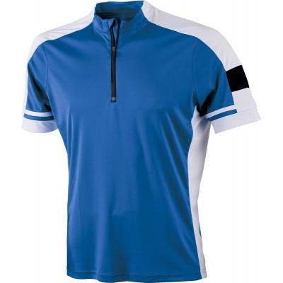 T-Shirt Men's Bike-T Half Zip colore cobalt taglia S