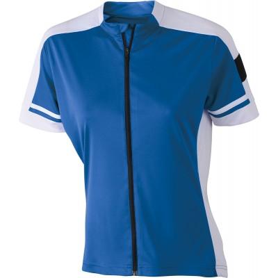 T-Shirt Ladies' Bike-T Full Zip colore cobalt taglia S
