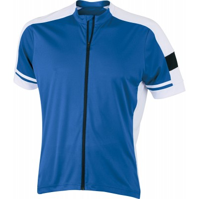 T-Shirt Men's Bike-T Full Zip colore cobalt taglia S