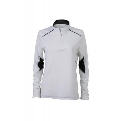 T-Shirt Ladies' Running Shirt colore white/black taglia XS