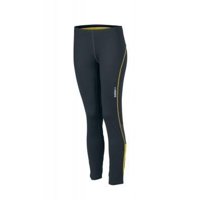 Pantaloni Ladies' Running Tights colore iron-grey/lemon taglia XS