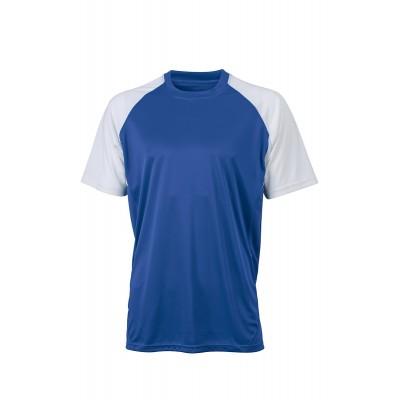 T-Shirt Competition Team Shirt colore royal/white taglia S