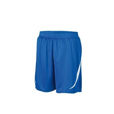 Pantaloni Tournament Team-Shorts colore royal/white taglia S