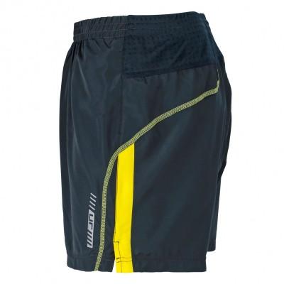 Pantaloni Men's Running Trunks colore iron-grey/lemon taglia S