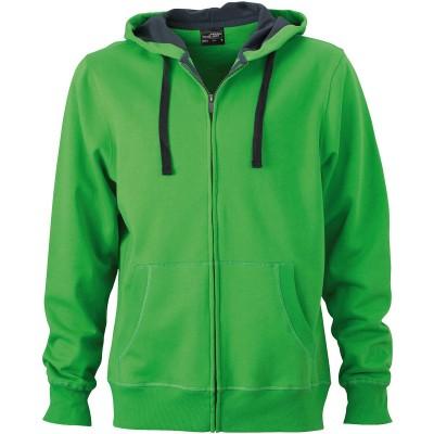 Felpe Men's Hooded Jacket colore green/carbon taglia S