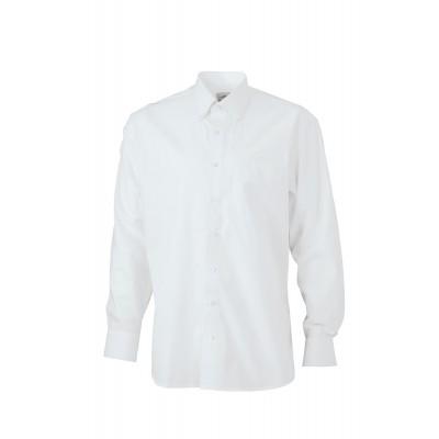 Camicie Men's Shirt 'BUTTON DOWN' colore white taglia S