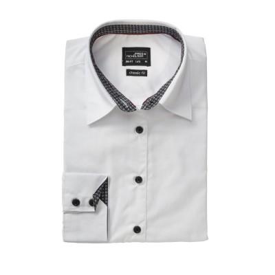 Camicie Ladies' Shirt 'Plain' colore white/titan-white taglia XS