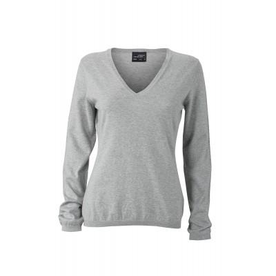 Maglieria Ladies' Pullover colore light-grey melange taglia XS