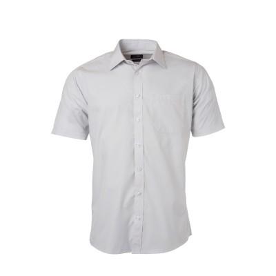 Camicie Men's Shirt Shortsleeve Poplin colore light-grey taglia S