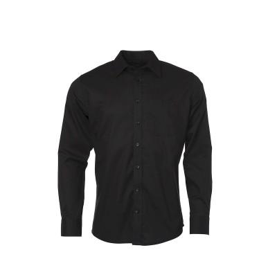Camicie Men's Shirt Longsleeve Oxford colore black taglia S