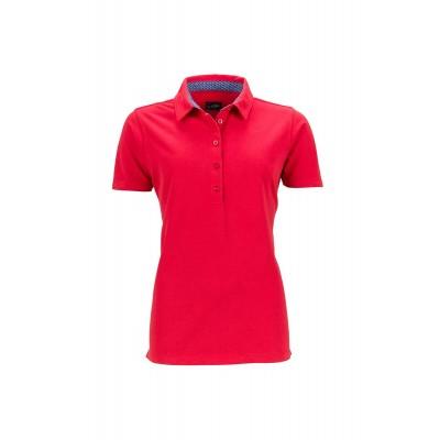 Polo Ladies' Polo colore red/blue-white taglia S