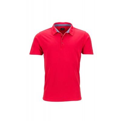 Polo Men's Polo colore red/blue-white taglia S