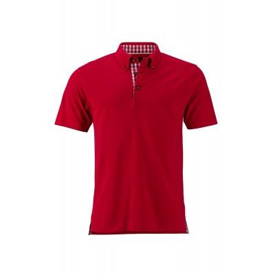 Polo Men's Traditional Polo colore red/red-white taglia S