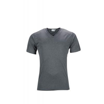 T-Shirt Men's Active-V colore dark-melange taglia S