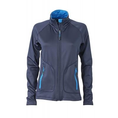Felpe Ladies' Stretchfleece Jacket colore navy/cobalt taglia S