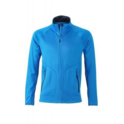 Felpe Men's Stretchfleece Jacket colore cobalt/navy taglia S