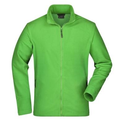 Pile Men's Basic Fleece Jacket colore spring-green taglia S