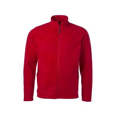 Pile Men's Fleece Jacket colore red taglia S