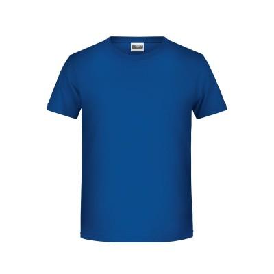 T-Shirt Boys' Basic-T colore dark royal taglia XS