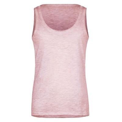 T-Shirt Ladies' Slub-Top colore soft pink taglia XS