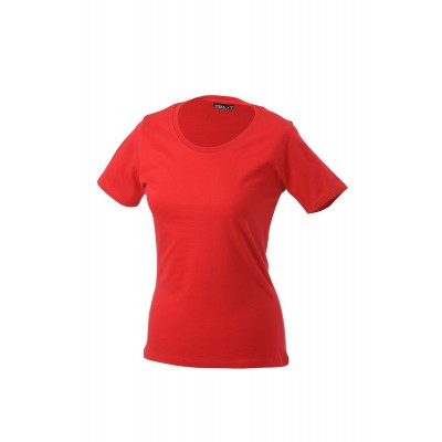 T-Shirt Workwear-T Women colore red taglia S