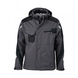 Giacche Craftsmen Softshell Jacket colore carbon/black taglia S