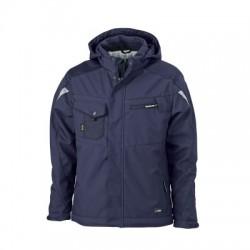 Giacche Craftsmen Softshell Jacket colore navy/navy taglia 3XL