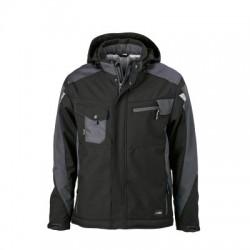 Giacche Craftsmen Softshell Jacket colore black/carbon taglia M