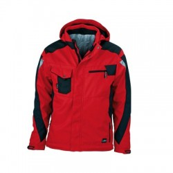 Giacche Craftsmen Softshell Jacket colore red/black taglia XS
