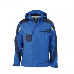 Giacche Craftsmen Softshell Jacket colore royal/navy taglia 3XL