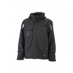 Giacche Craftsmen Softshell Jacket colore black/black taglia XS