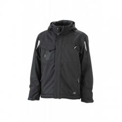 Giacche Craftsmen Softshell Jacket colore black/black taglia L