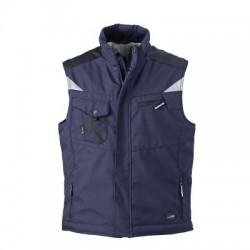 Giacche Craftsmen Softshell Vest colore navy/navy taglia L