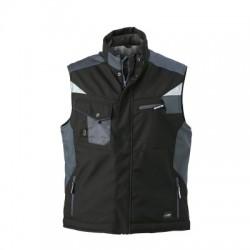 Giacche Craftsmen Softshell Vest colore black/carbon taglia XXL