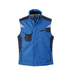 Giacche Craftsmen Softshell Vest colore royal/navy taglia S