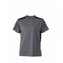 T-Shirt Craftsmen T-Shirt colore carbon/black taglia 3XL
