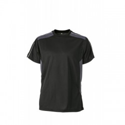 T-Shirt Craftsmen T-Shirt colore black/carbon taglia XS