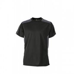 T-Shirt Craftsmen T-Shirt colore black/carbon taglia L