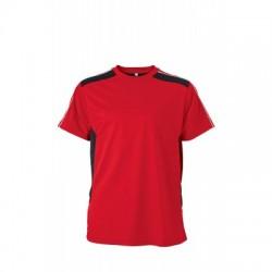 T-Shirt Craftsmen T-Shirt colore red/black taglia XS