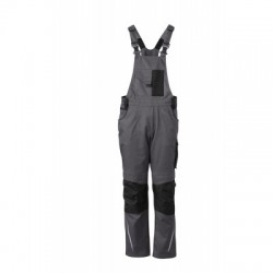 Pantaloni Workwear Pantsss With Bib colore carbon/black taglia 52